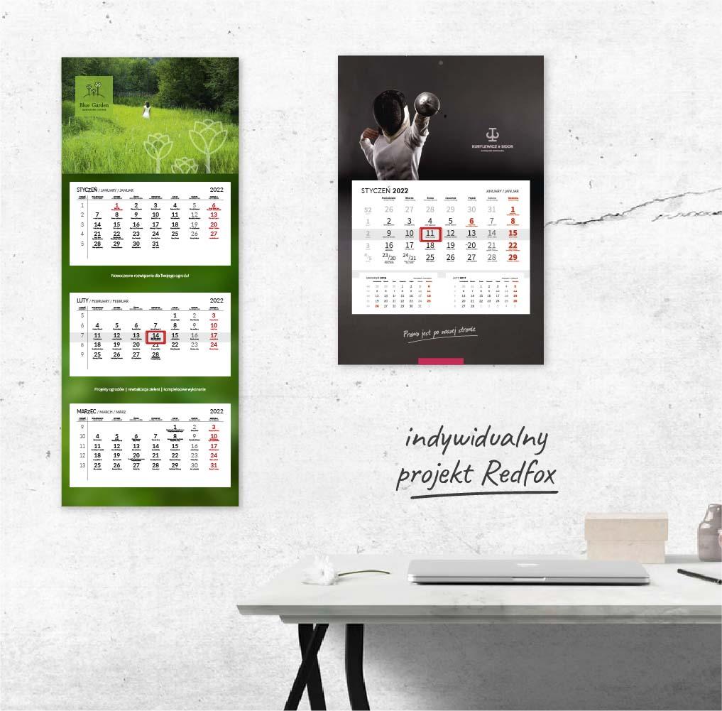 Kalendarz na2022 rok | projekt idruk