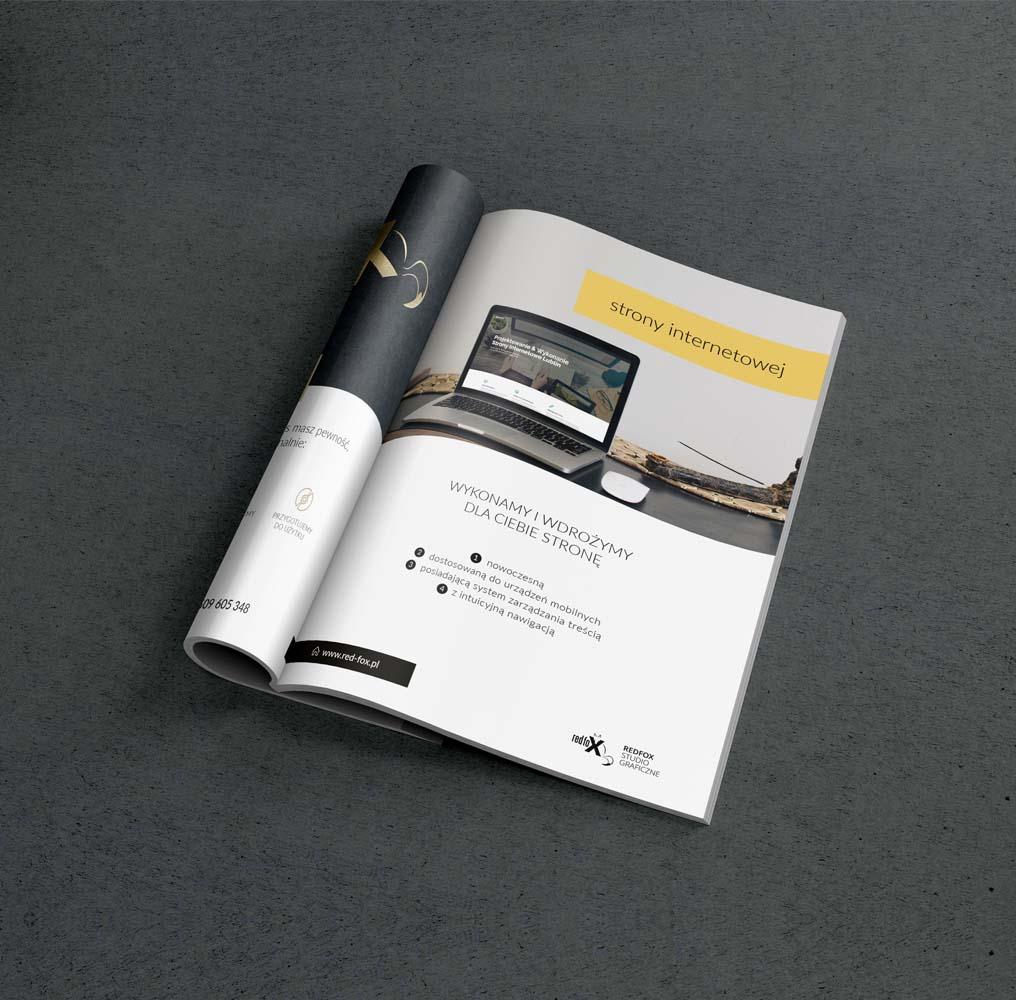 Projektujemy niesamowite katalogi wminimalistycznym stylu. Druk katalogów odbywa się zdodatkowym uszlachetnieniem naprzykład lakier wybiórczy czyfolia soft.