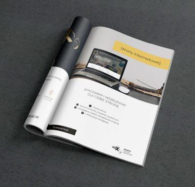 Katalogi, foldery, broszury