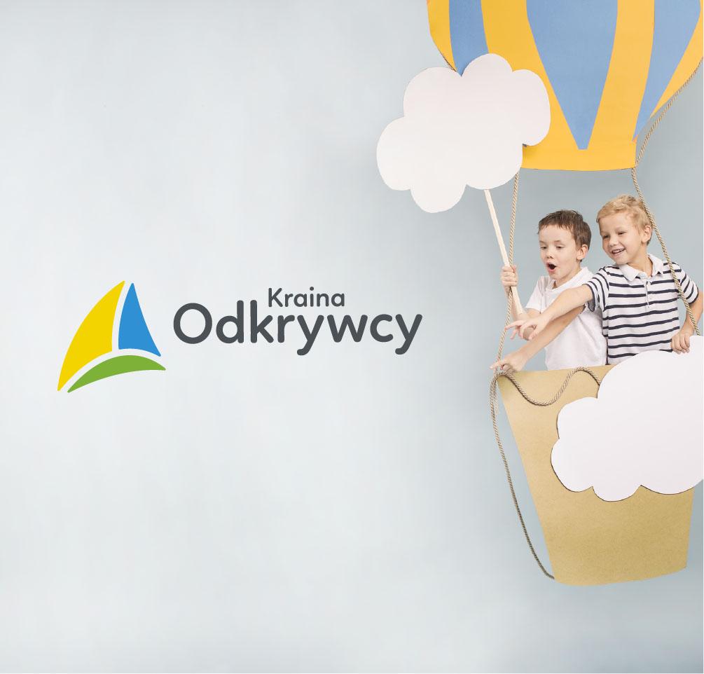 Logo zaprojektowane dla przedszkola żłobka