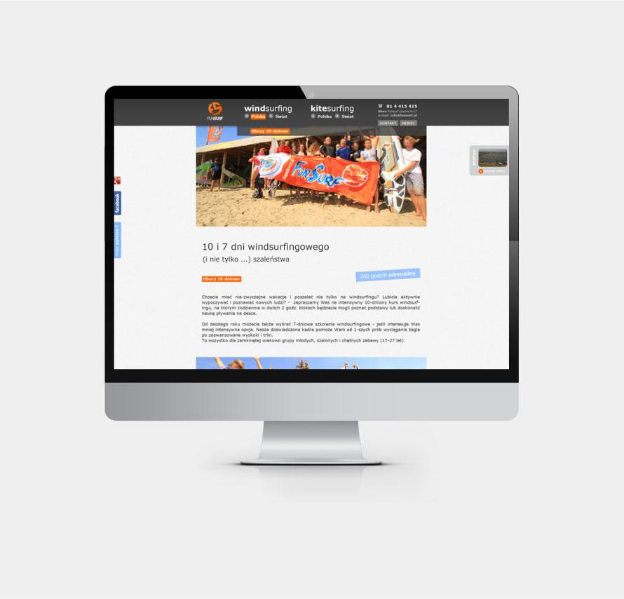 Projekt grafiki strony www