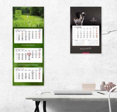 Studio graficzne - projekt kalendarza