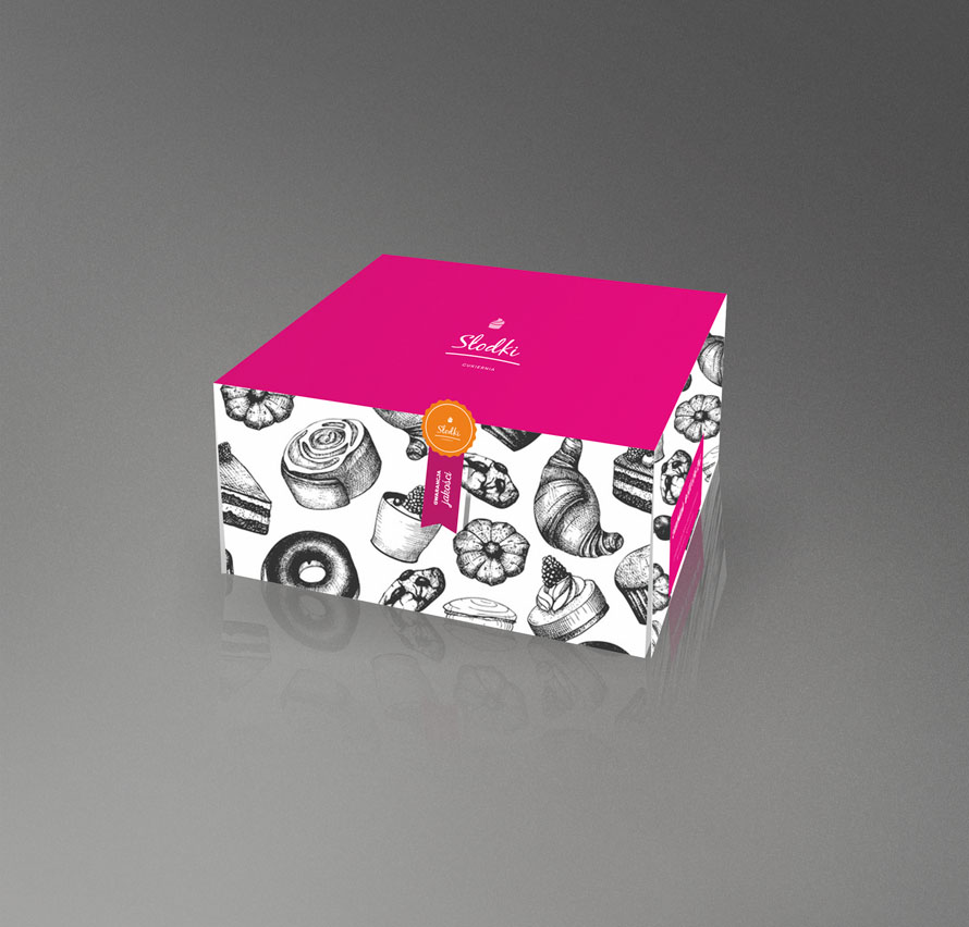Studio graficzne - projekt opakowania pudełka