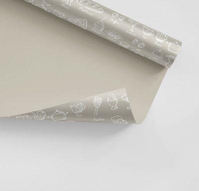 Papier pakowy znadrukiem